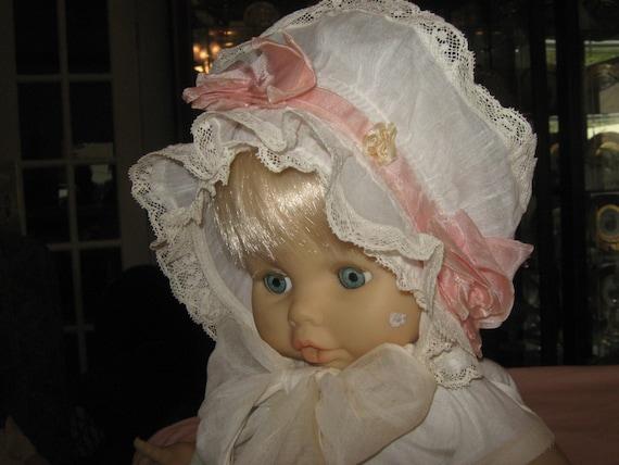 Antique Baby Bonnet