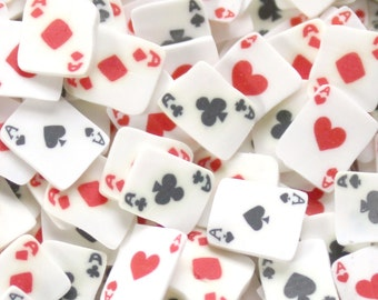 150 Ace Suite Playing Card Slices