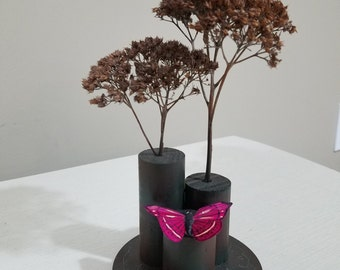 Butterfly and Flower stand