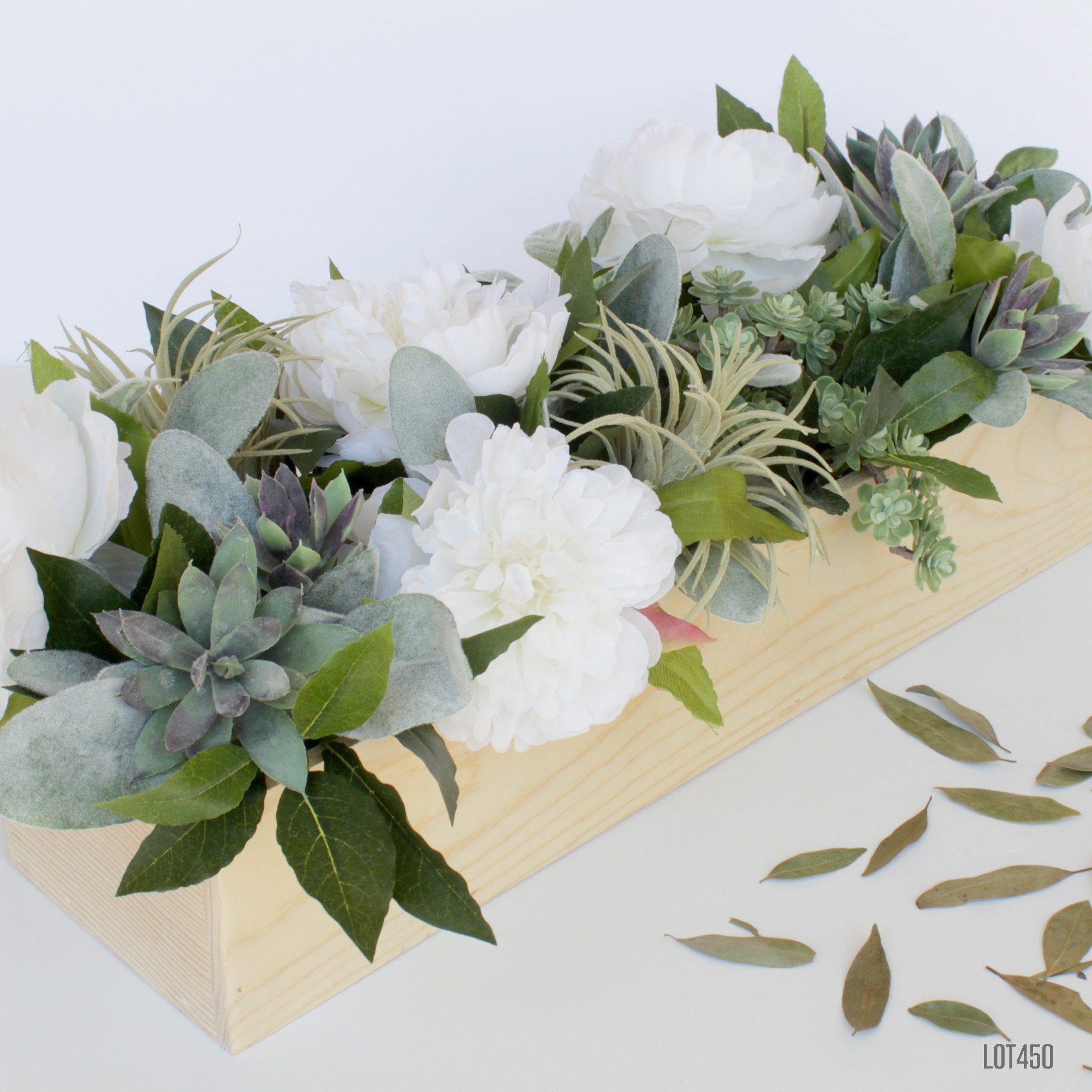 Flower Centerpiece For Dining Table Large Centerpiece With Etsy