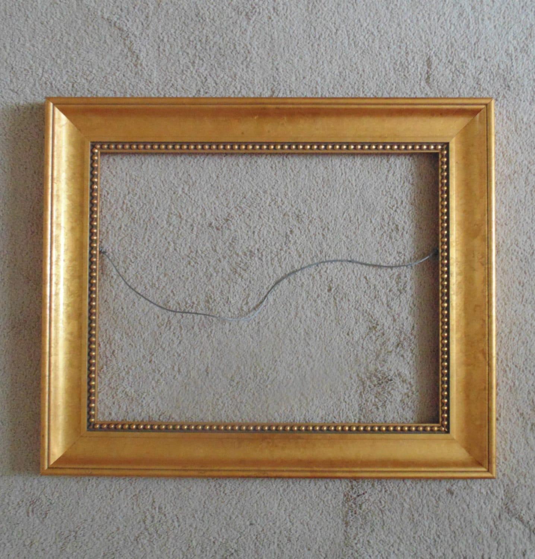Marco de madera para la impresión / pintura / espejo dorado oro ...