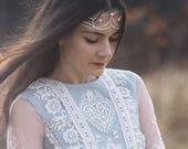 To Angels -  White Magic Original Handmade Natural Brass Tiara/Diadem