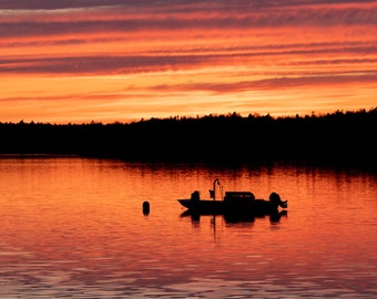 Sunset in Bar Harbor - Maine - Print, Metal or Canvas Photo
