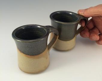 Espresso Coffee Cup in Blue Glaze, small coffee mugs,tea cup