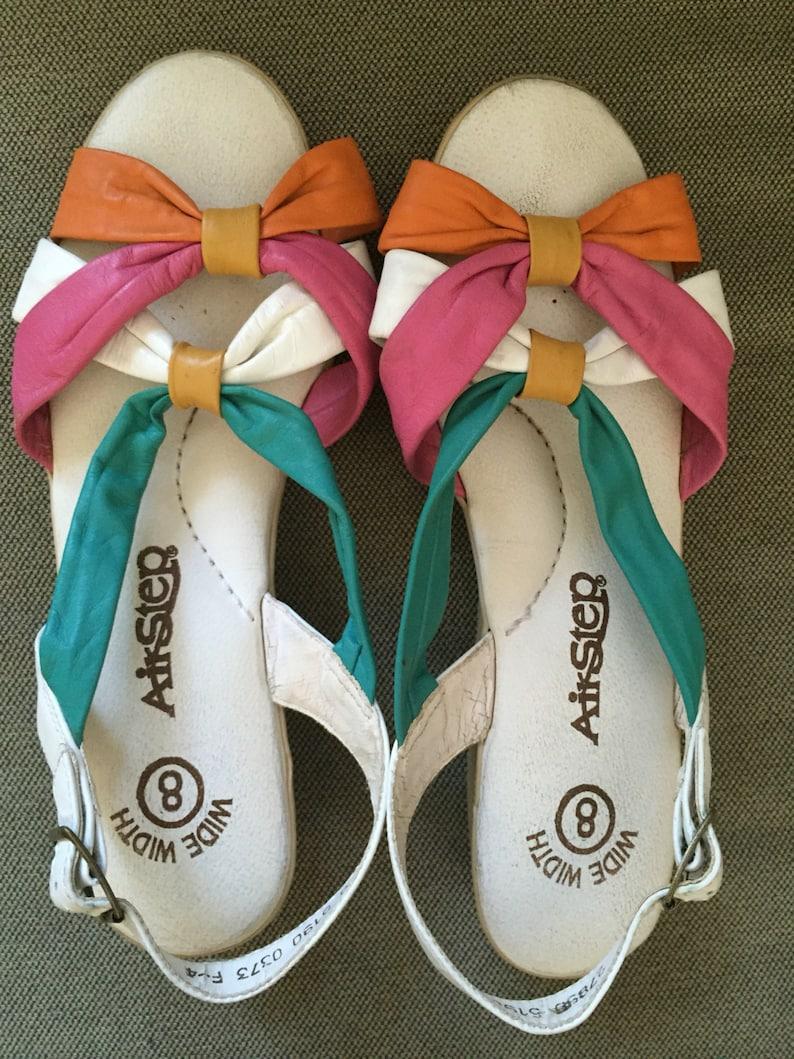best website d2541 3499a Vintage leather AirStep sandals