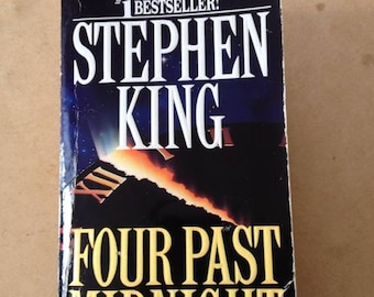 Stephen King FOUR PAST MIDNIGHT paperback 1991 First Signet Printing