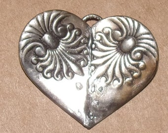 No. 3 Shell Soldered Heart