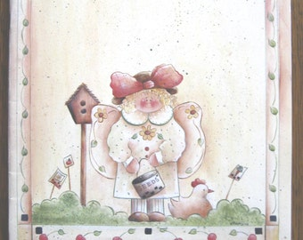 Snickerdoodles Summer, painting techniques, garden designs, craft book, garden decor, painting tutorial, country art, DIY, folk art, rustic