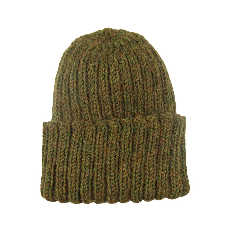 Camo watch cap alpaca and wool hand knit very soft and  7a94409c629