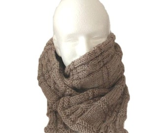 Six foot merino scarf, super soft and warm. Great gift for a man.