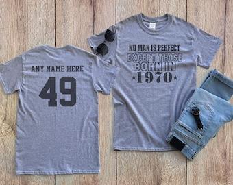 1e0f62550fa 49 birthday shirt | Etsy