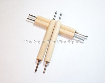 Paper Bead Making Tool, Slotted, Double Ended *You Receive ONE Tool*