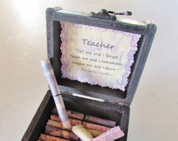 Teacher Quote Box