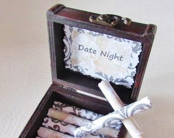 Girlfriend Birthday Gift Wife Date Night Scroll Box Valentine Idea Anniversary