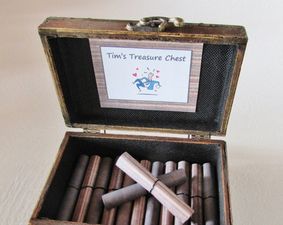 A Treasure Chest of Fun for HIM