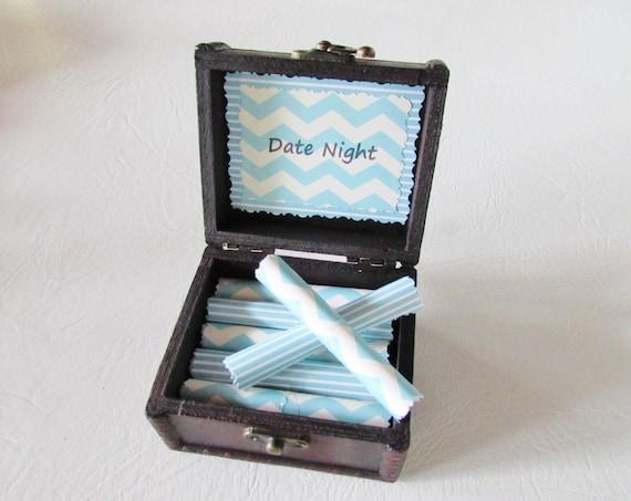Date Night Scroll Box - Creative Date Night Ideas in a Wood Box