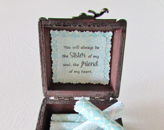 Friendship Quote Box