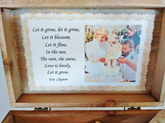 Anniversary Scroll Box - Romantic Love Quotes in a Cedar Chest - Parents Anniversary Gift - 40th Anniversary - 50th Anniversary Gift
