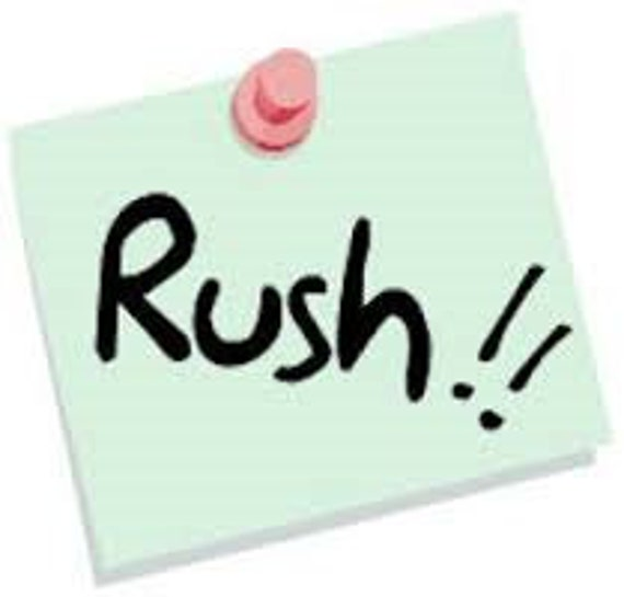 Rush My Order!  Pick an upgrade to rush your scroll box and speed up shipping!