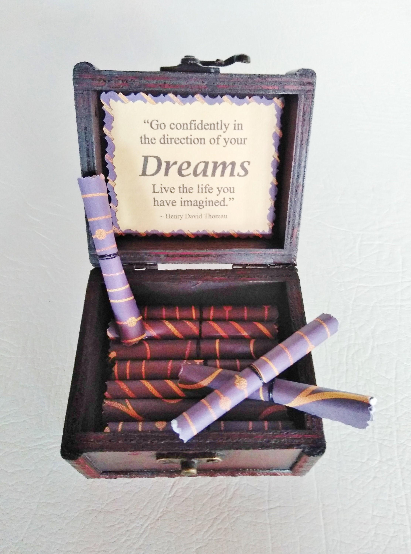 graduation quote box grad gift flirty creations