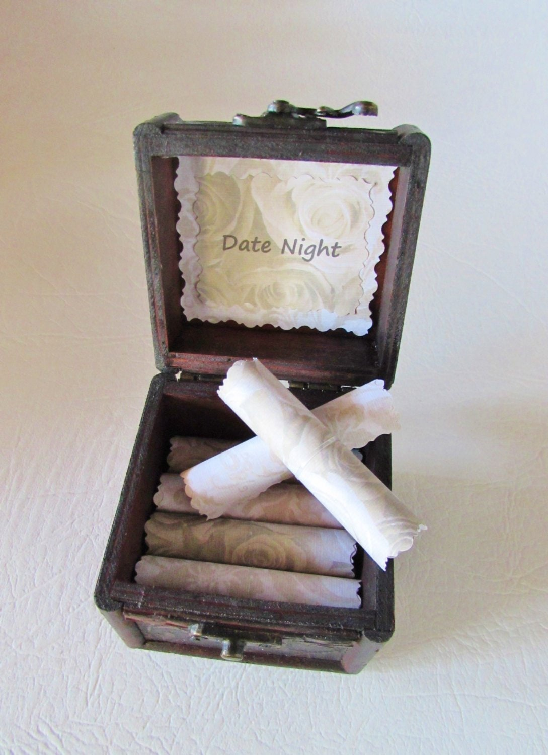 Gift For HER Valentine Idea Her The Date Night Scroll Box 12