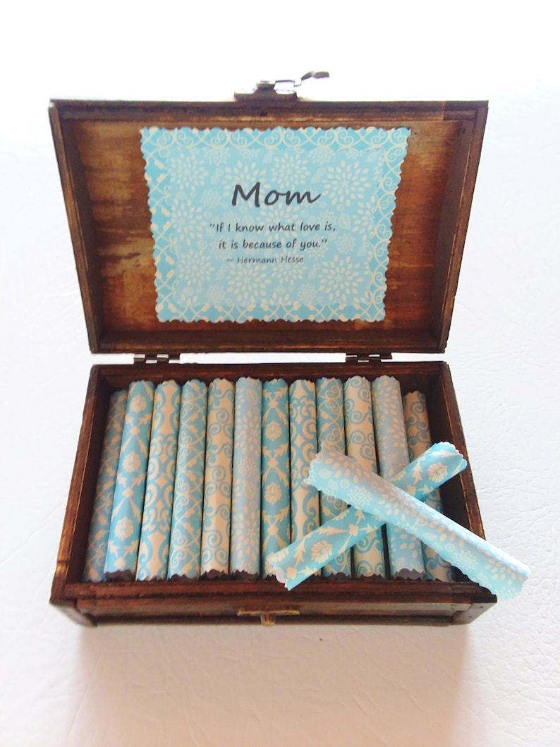 Mom Scroll Box Beautiful Quotes About Mothers In A Wood