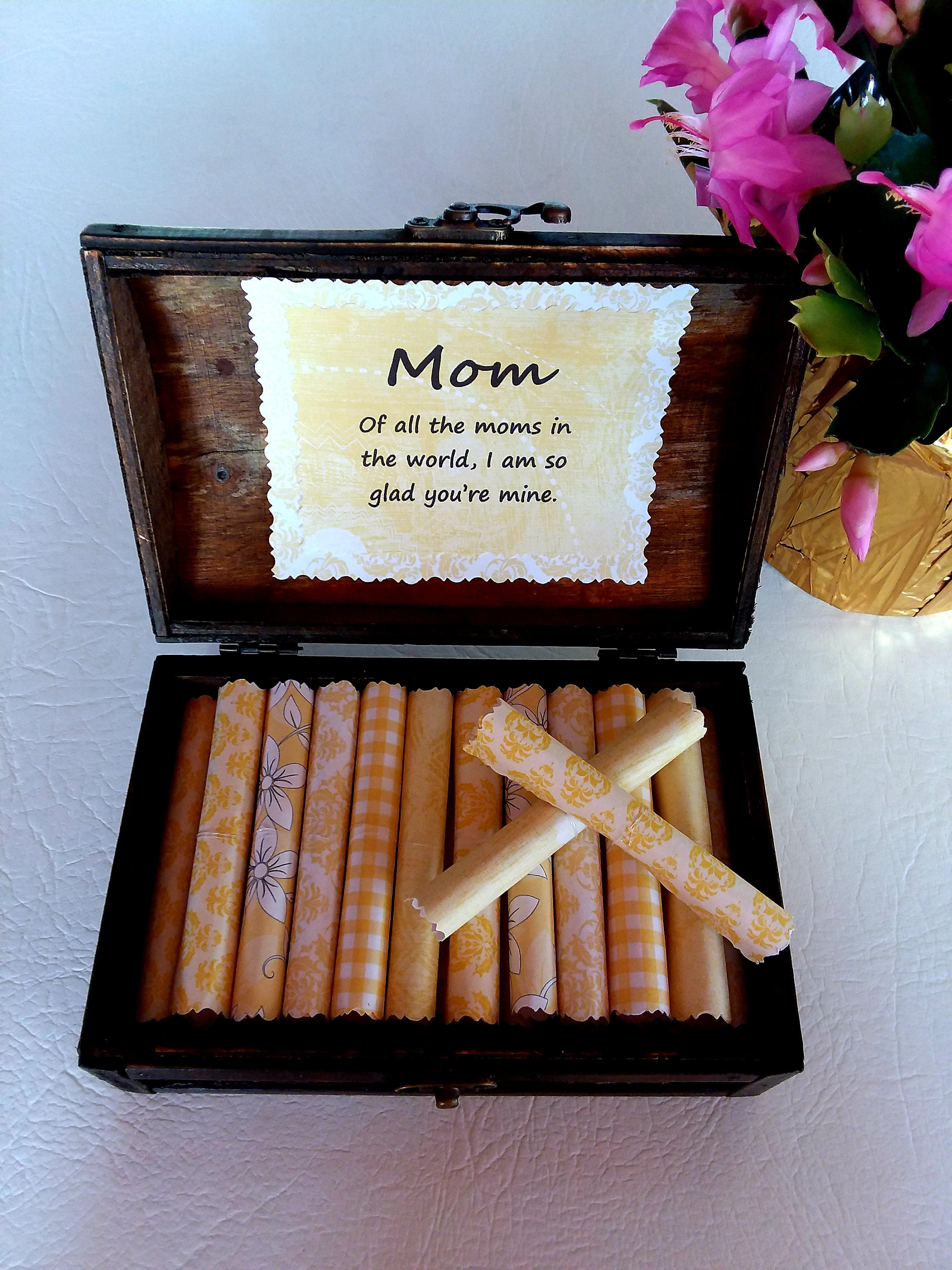 Mother Quote Box Sweet Quotes About Mothers In A Beautiful Wood