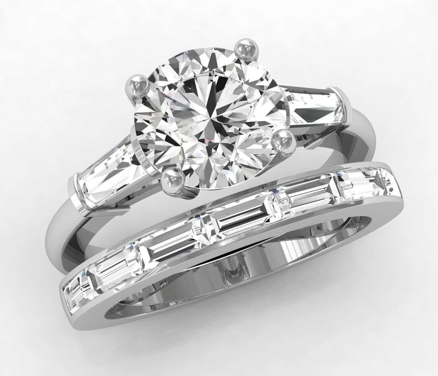 design setting allurez your engagement set ring tension swirl solitaire bpid platinum own pt wedding