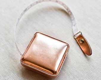 Tacony Rose Gold Retractable Tape Measure