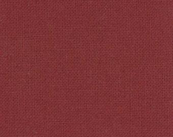 Moda Bella Solids Barn Door 9900-113 dark red solid fabric