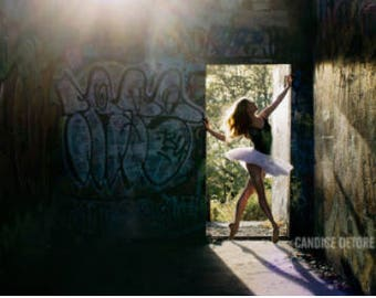 Dance Print - 'Graffiti Pier'