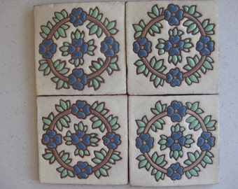 20-Heritage Corona Blue Tile (Shipping Included)