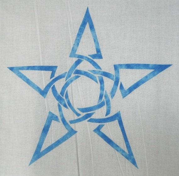 Star Quilt Applique Celtic Pattern Design Easy Knot thxQsdCr