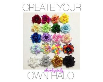 Customize Your Halo / Flower Halo / Crown / Headband