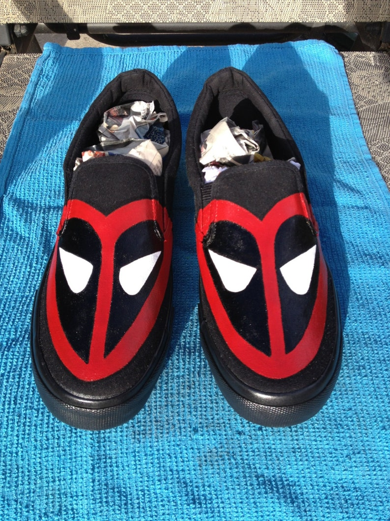 d1c56b59b3 Deadpool Love Shoes