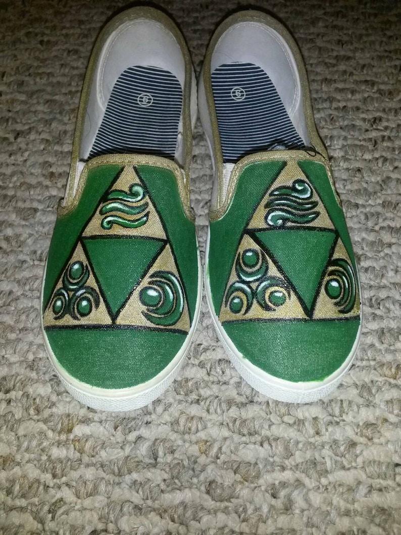75d1749fdc Tri Force Zelda Shoes