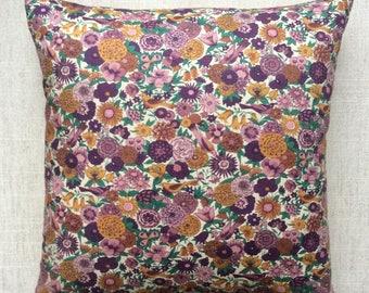 Vintage Liberty Of London Fabric Cushion 40cm x 40cm