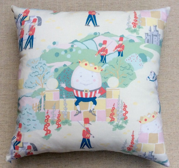 Nursery Humpty Dumpty Cushion Covers Pillow Cases Home Decor or Inner