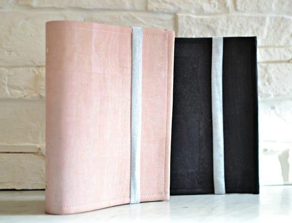 image regarding A5 Planner Binder named A5 planner binder, A5 organizer binder, organiser red cork, 6 rings binder, planner binder, bullet magazine refillable, modular timetable