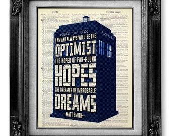 Tardis DOCTOR WHO Art Tardis Print - Dr Who TRADIS Poster - Dr Who Geekery, Dr Who Print, Sherlock Doctor Who Poster Wall Art Decor Artwork