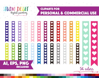 54 flag checklist clipart vector clip art for planner stickers graphics png ai eps heart check list to do reminder commercial use sc002