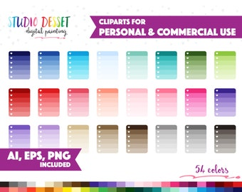 54 checklist clipart vector clip art for planner stickers graphics png ai eps heart check list to do task reminder commercial use sc001
