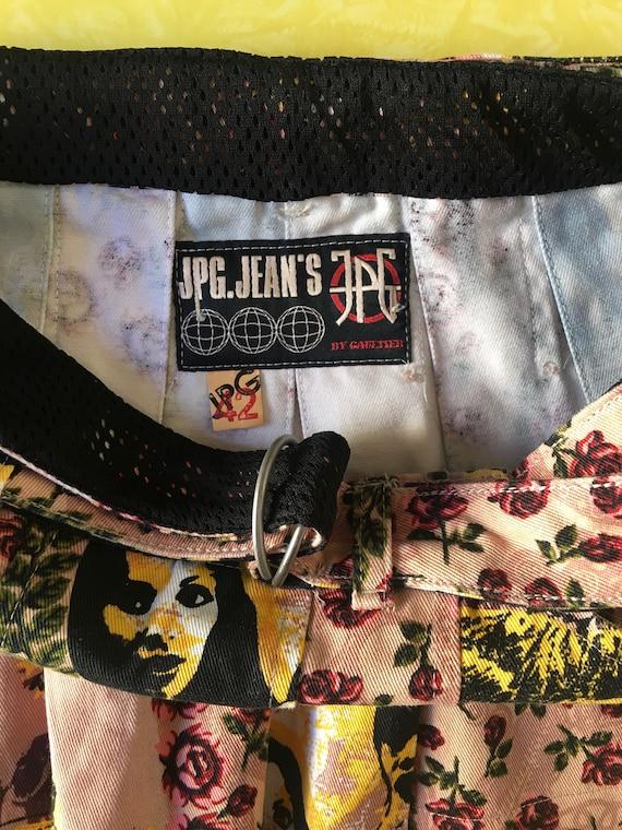 90s Jean Paul Gaultier Club Kid Pleated Micro Min… - image 8