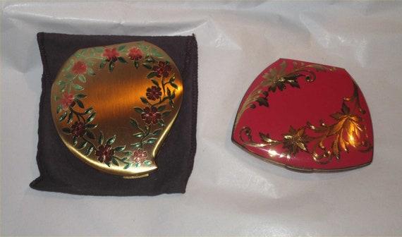 Tickled PINK ~2 for 1 Goldtone ELGIN American Engr