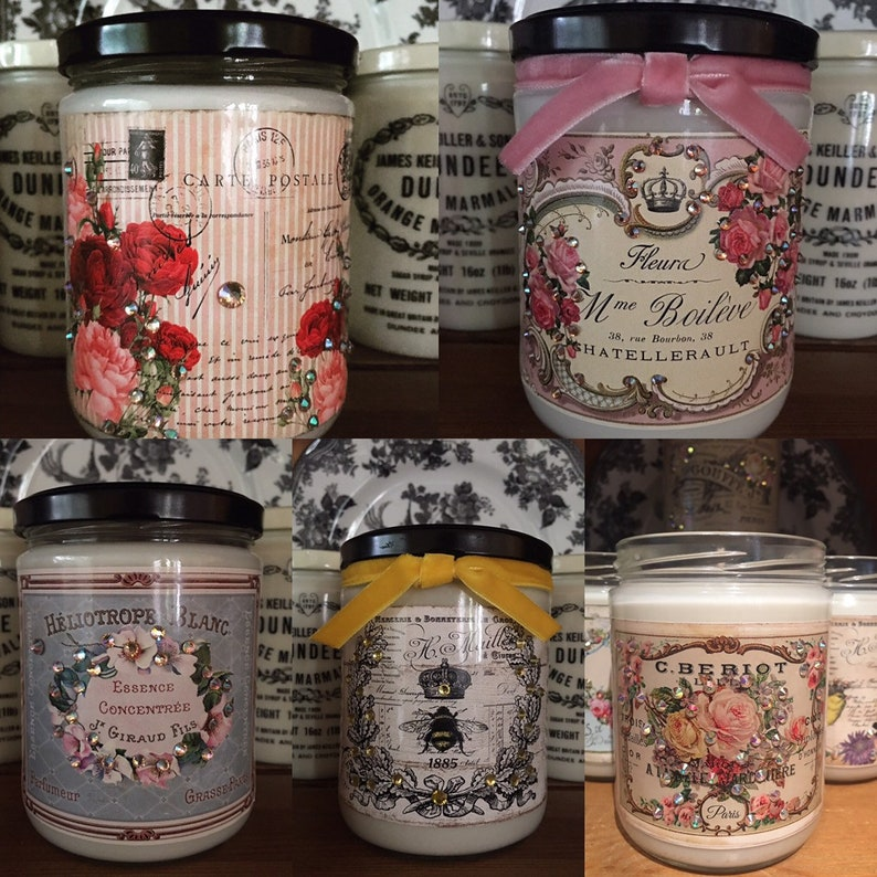 Wholesale 24 French Style Soy Candles Shabby Chic Style Home Decor Soy Wax  Collection 24 Wholesale Candles Home Fragrance Boutique Wholesale