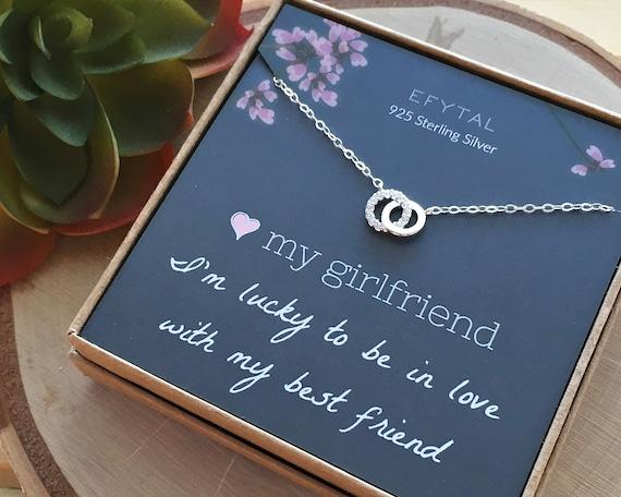 Ongekend Girlfriend Gifts Girlfriend Birthday Gift Ideas Sterling   Etsy JO-56
