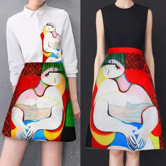 Fine Art Collection Pablo Picasso La Reve The Dream Lady -7876