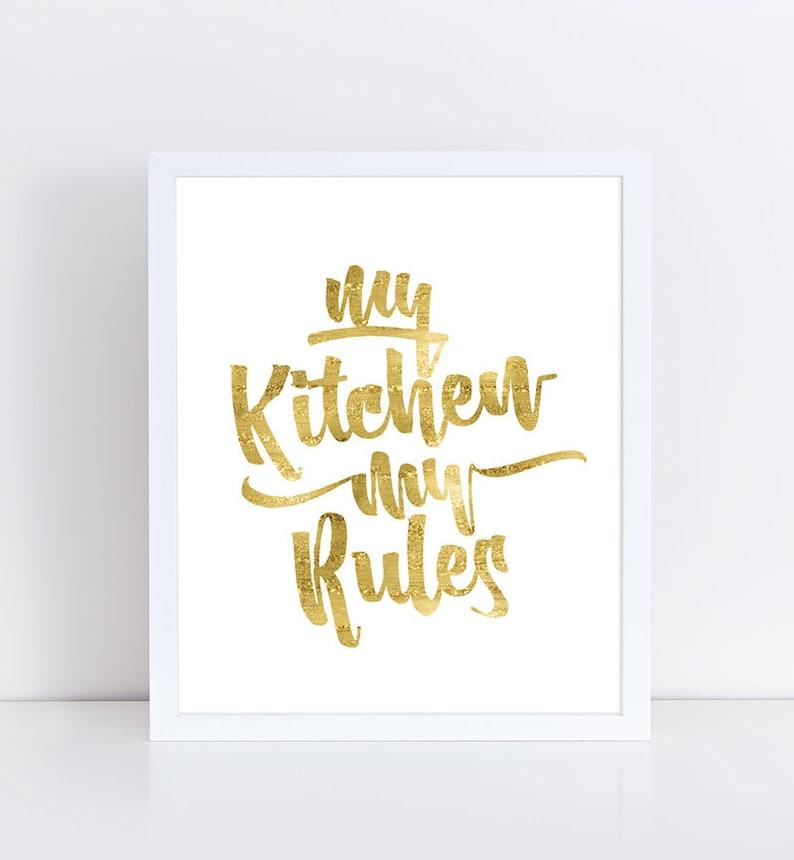 Wer ist von meiner Küche Regeln von