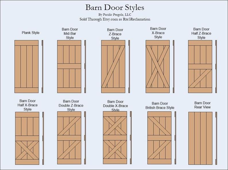 Superbe Barn Door Double Z Brace Style, Rustic, Reclaimed, Rough Cut, Barn Wood,  Douglas Fir, Sliding Door, Includes Free Shipping