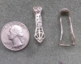 Sterling Silver Pinch Bail - Item #111